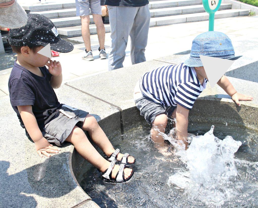 大阪兵庫で水遊び巡りの休日。伊丹スカイパーク&箕面西公園