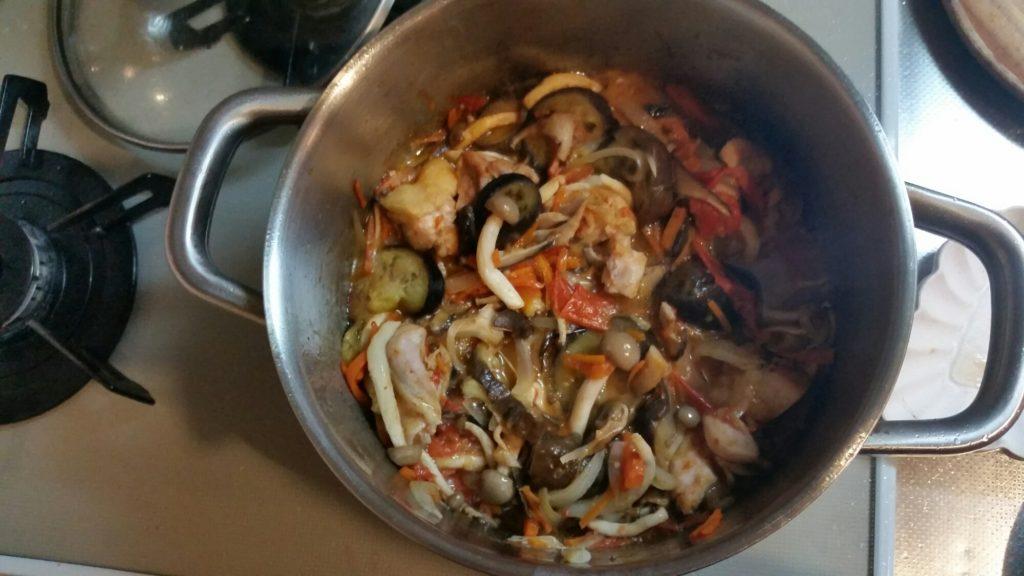 七変化する常備菜「重ね煮」で毎日の料理を楽にする。