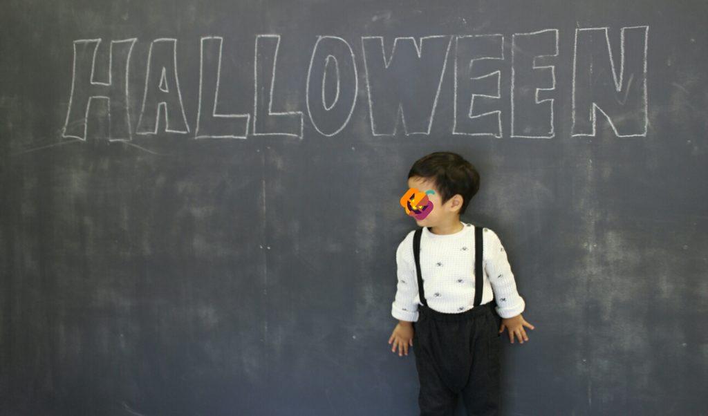 幼児英語教室でのキッズハロウィンパーティ。