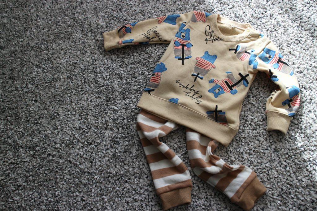 2才児の冬パジャマ・部屋着選び問題