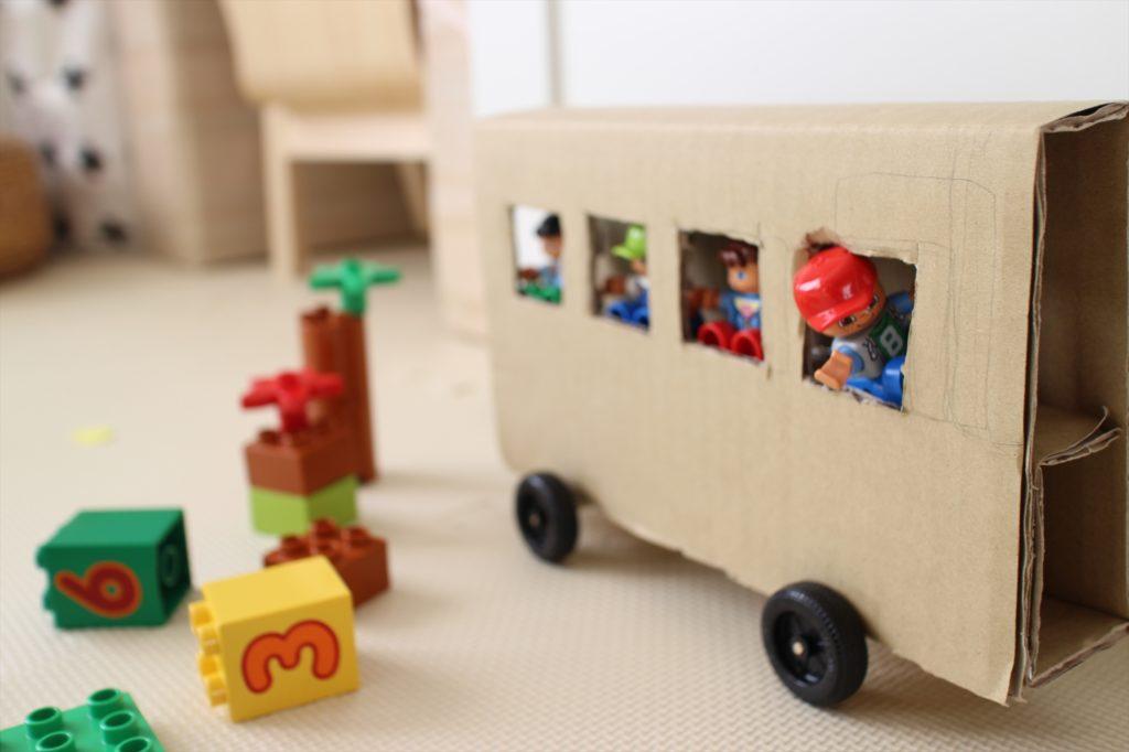 LEGO BUS TOY SIDE
