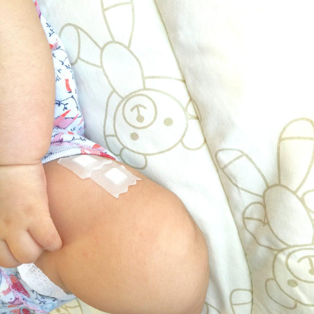 生後3ヶ月:予防接種行ってきました。