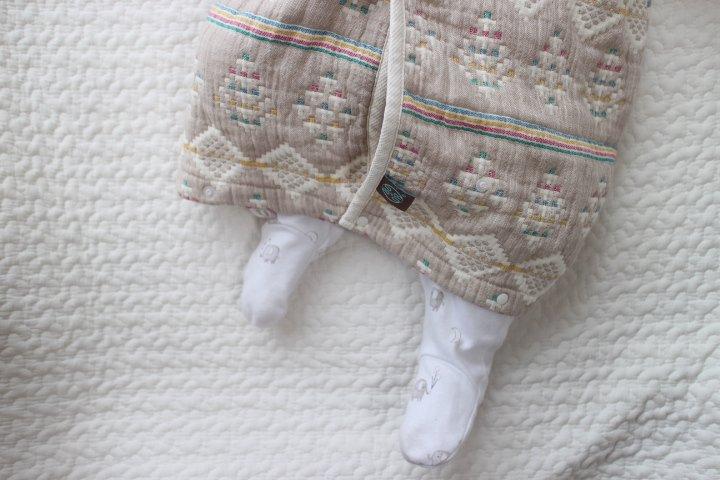 赤ちゃんの就寝防寒に買ったもの。