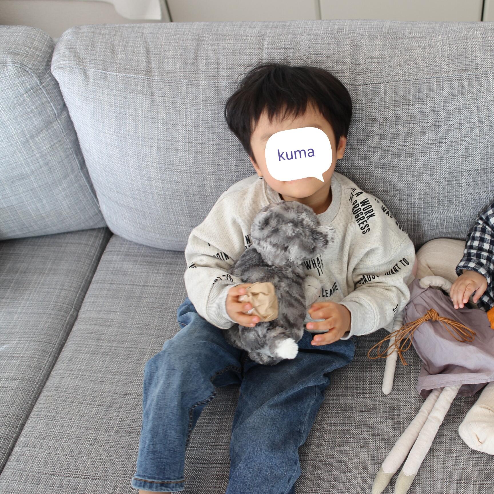 幼稚園グッズ作りのためミシンと生地を買いました。