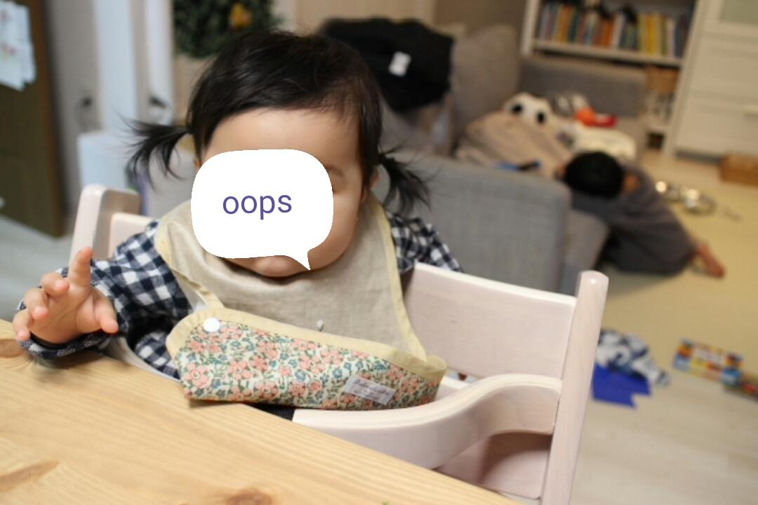 生後9ヶ月、支援センターで舐めまくりからの嘔吐下痢。