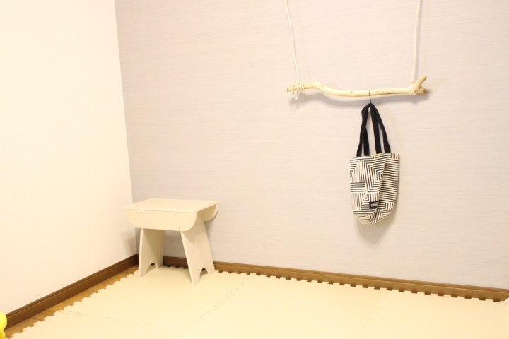 改造前の身支度部屋。