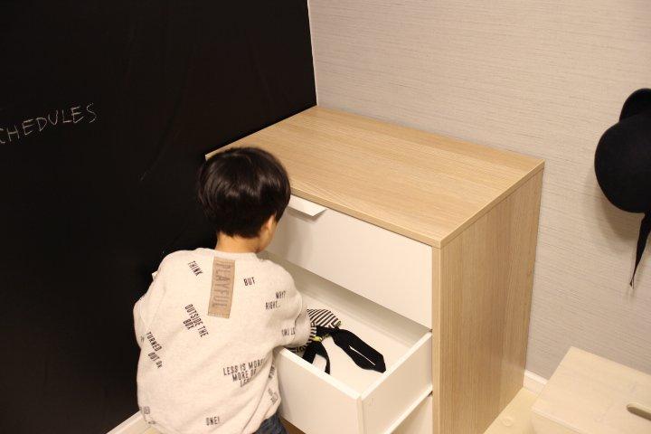 幼稚園身支度スペースを大改造計画!導線を意識した身支度収納作り。