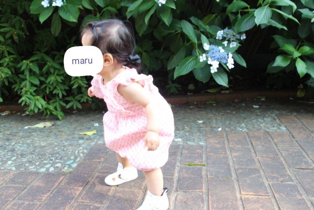 1才2ヶ月:よちよち歩きの成長記録。