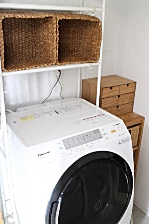 パナソニックのドラム式洗濯乾燥機を賃貸マンションに設置