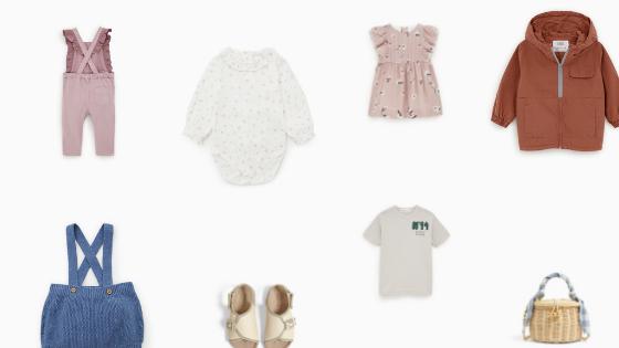 ZARAの春物最新ベビー服子供服が可愛すぎ!選べない…けどピックアップ。