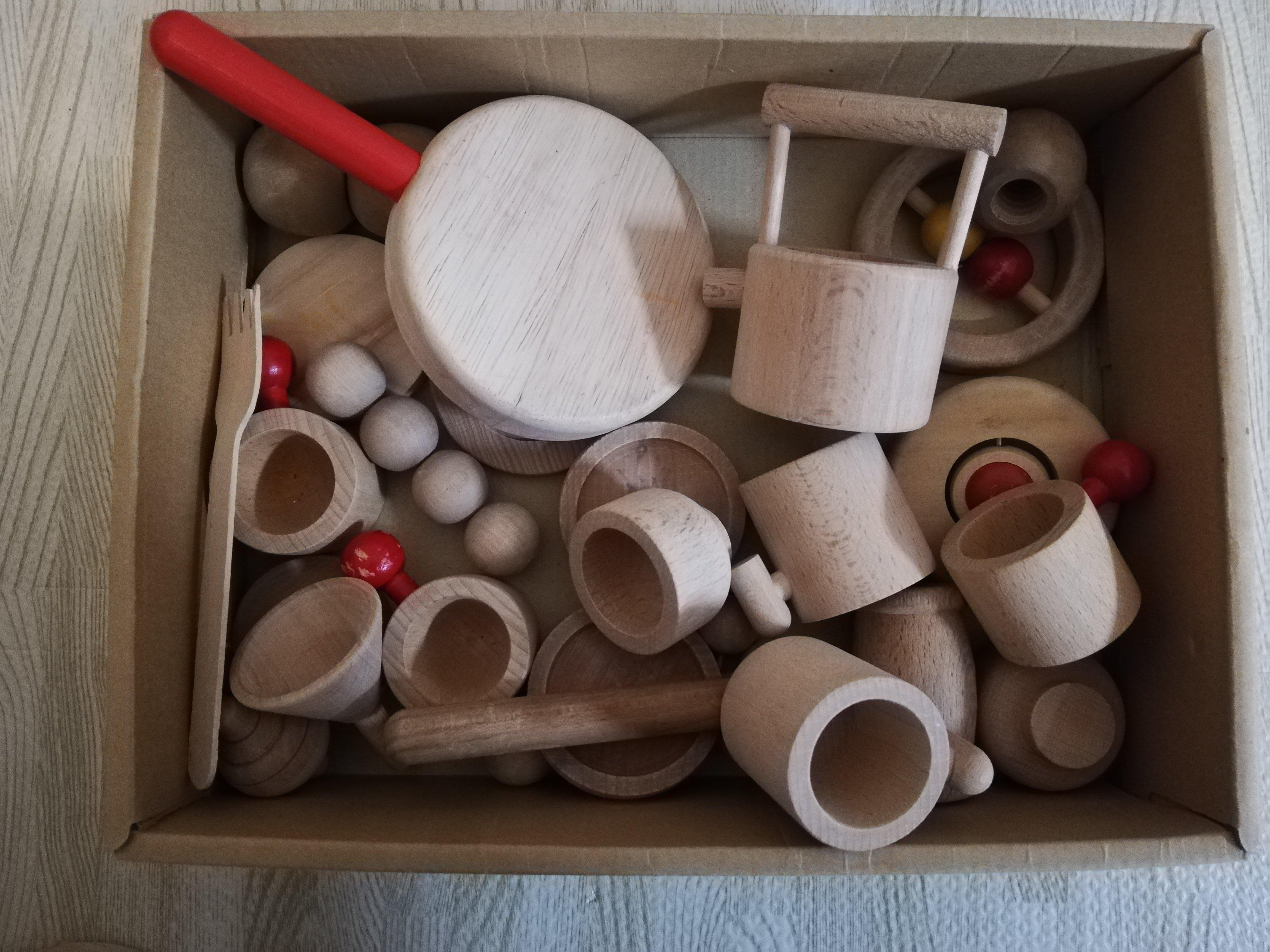 木製おままごと調理具
