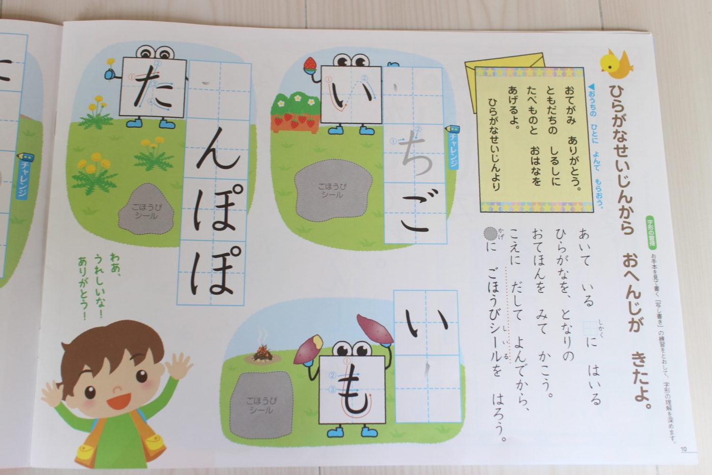 Z会幼児コース年中のレビュー