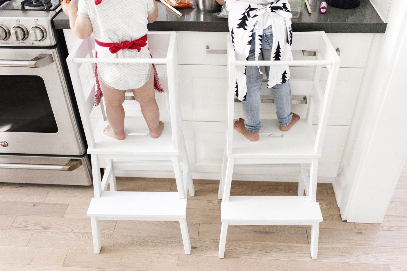 台所育児の踏み台に海外アイデアを活用、モンテッソリー教育流