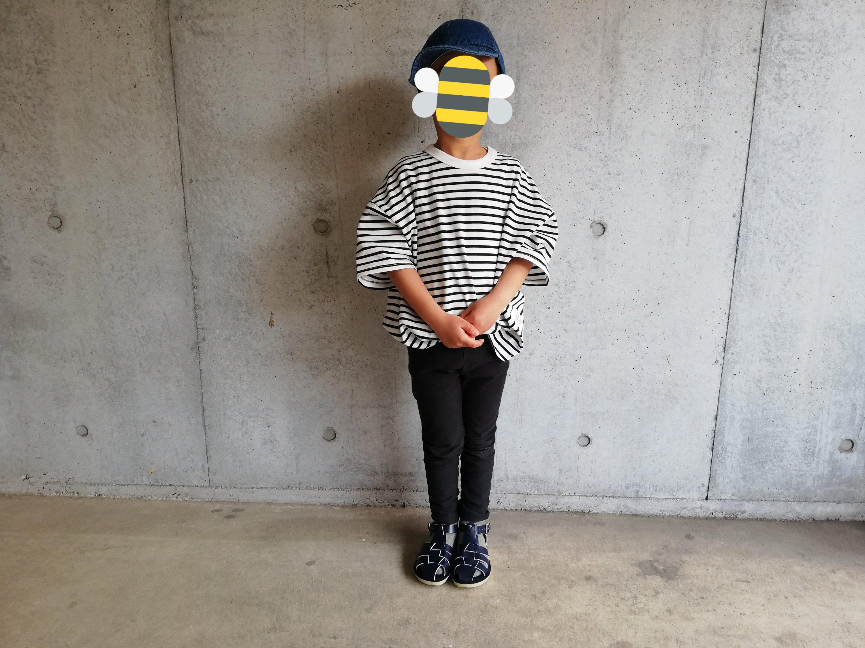 男の子服!形が好みなビッグシルエットTシャツ。