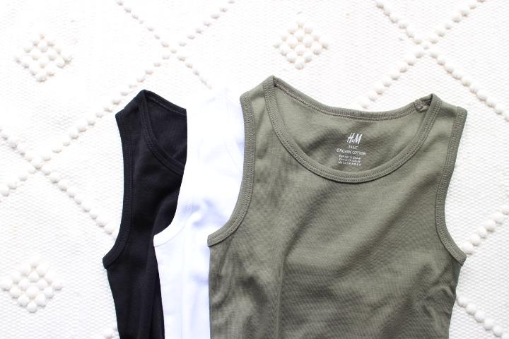 H&Mボーイズ購入品。H&Mの肌着の質は正直粗い。妥協のお買い物記録。