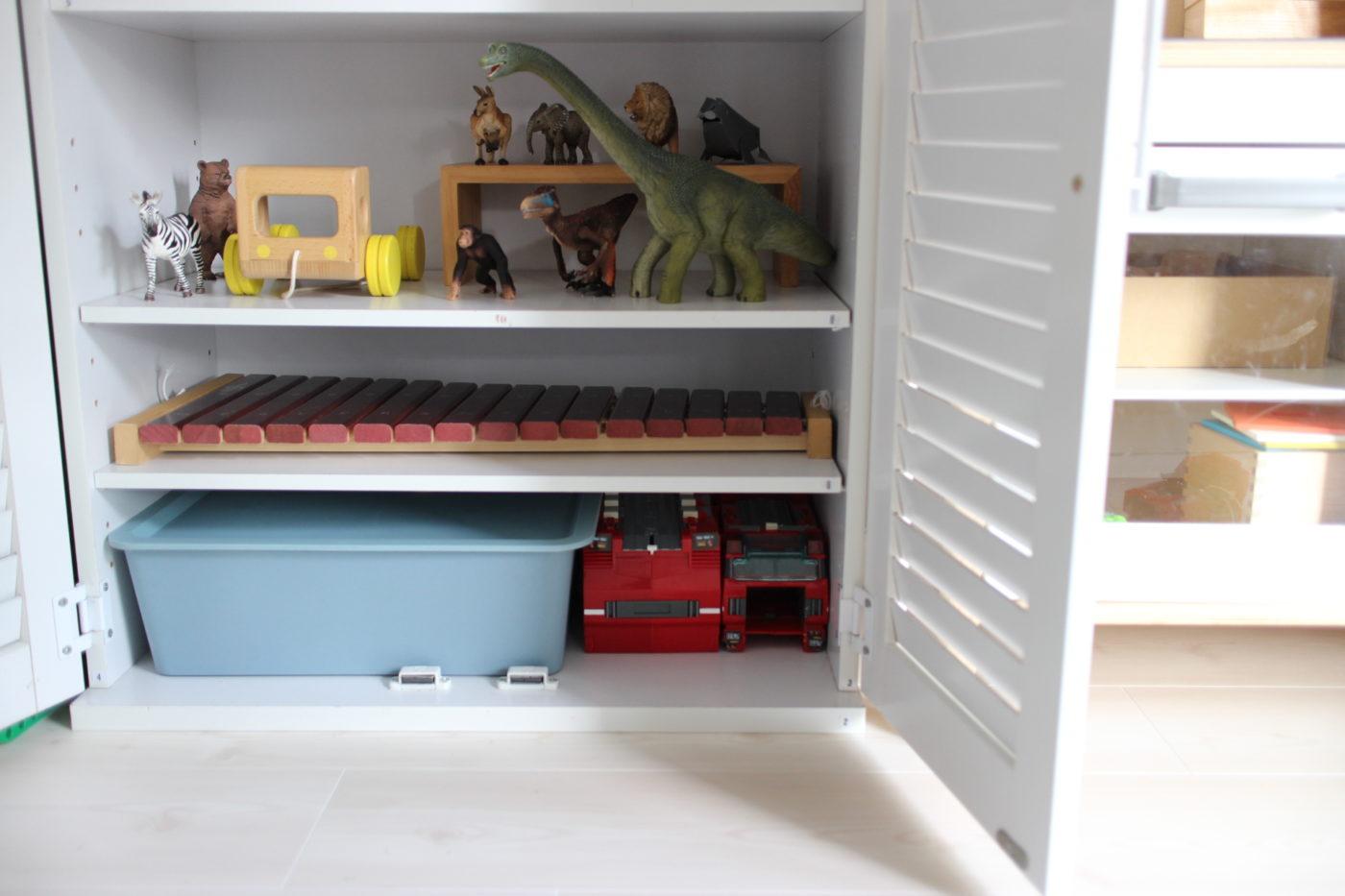 子供に怒られないおもちゃの処分手順。ガチャガチャやハッピーセットの位置づけ。
