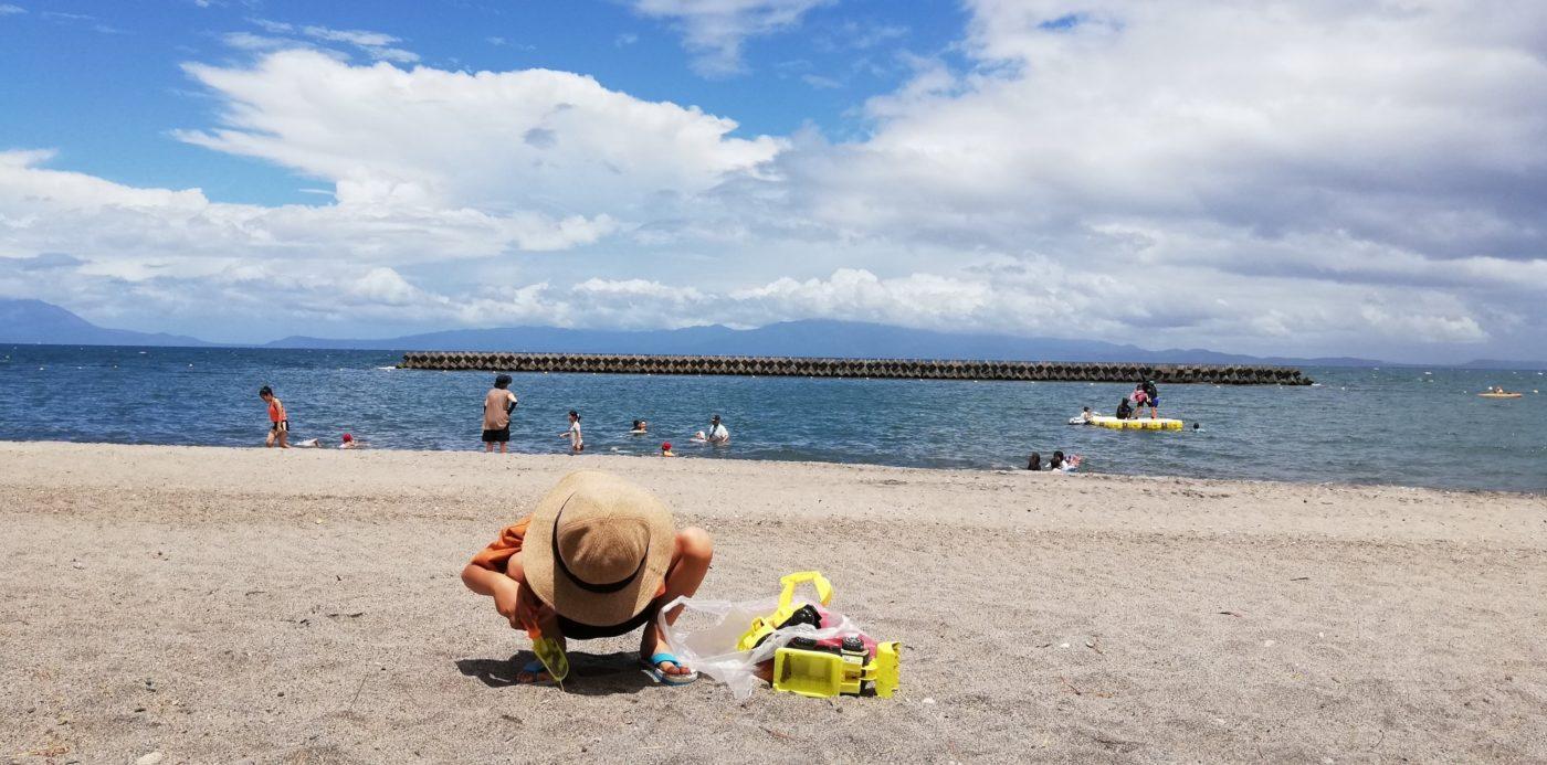 鹿児島県指宿市子連れ旅行記。ビーチと旅館と食べ物と。