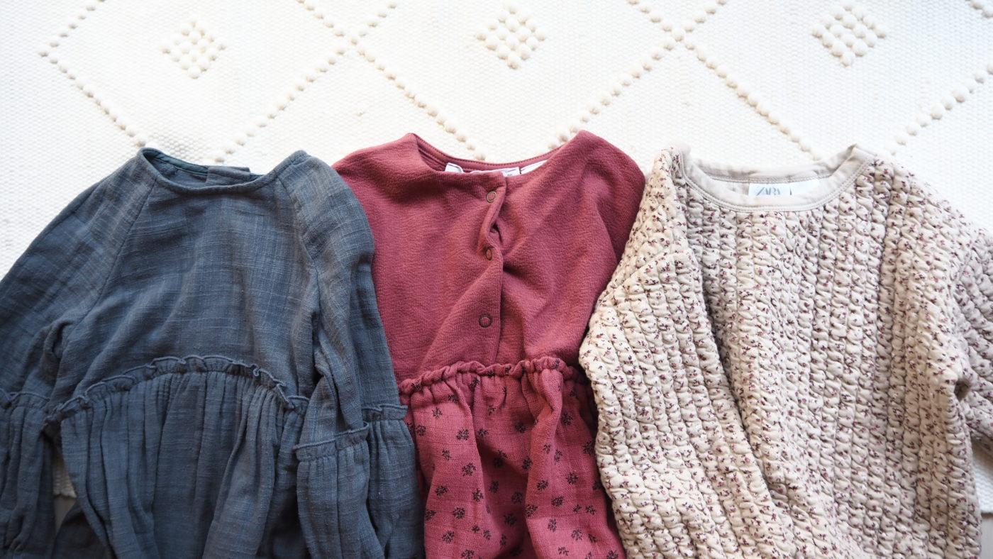 ZARAベビーガール子供服の新作購入品