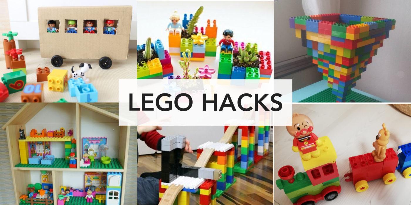 「LEGOデュプロ」ハック!使い倒し海外アイデアと私のまとめ。