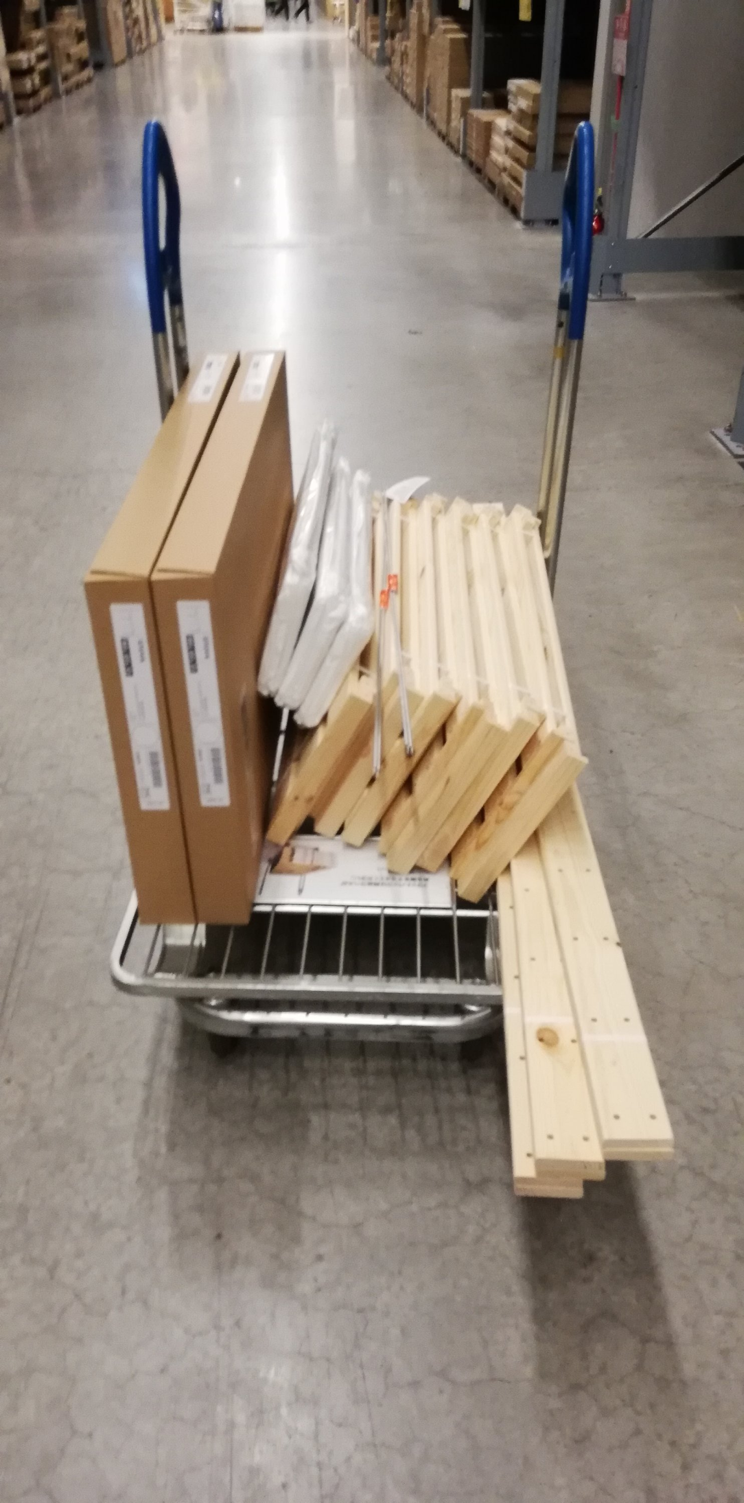 ikea open wood rack