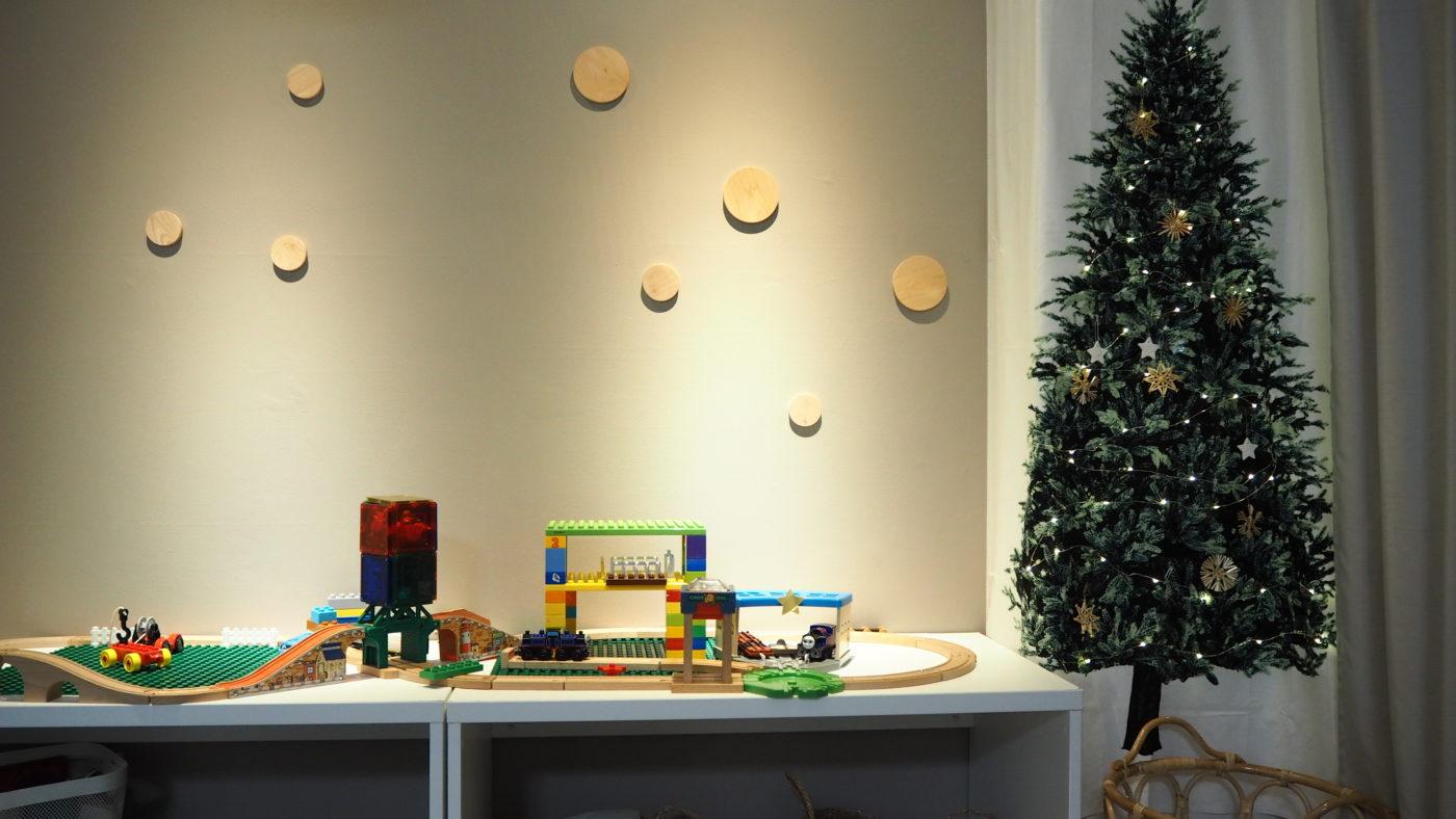 クリスマスパーティ、生協のローストチキン。