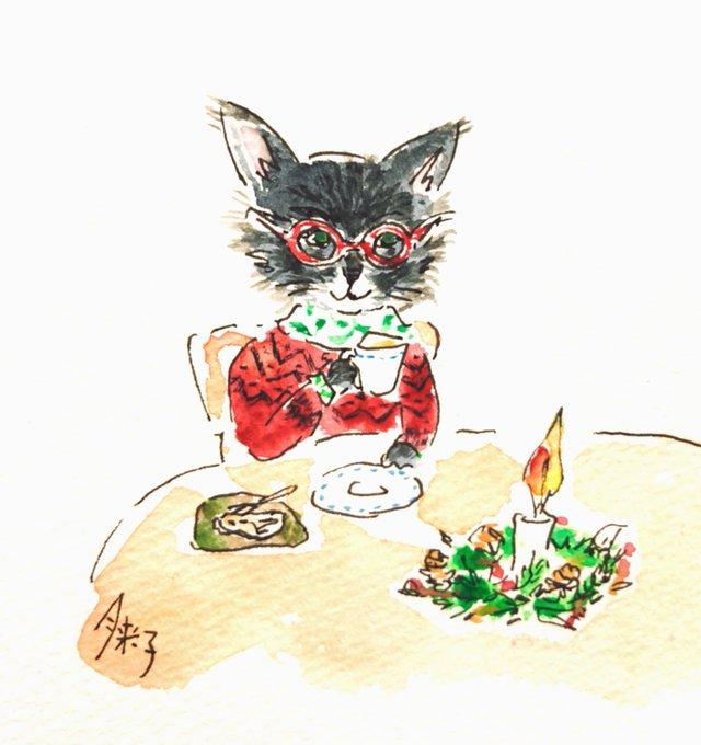猫にゃ~ごのイラストを描いて頂きました。