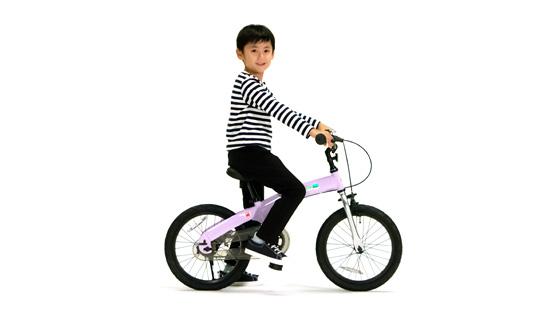 へんしんバイクに大きいサイズ(14・16インチ)が出ていた件。