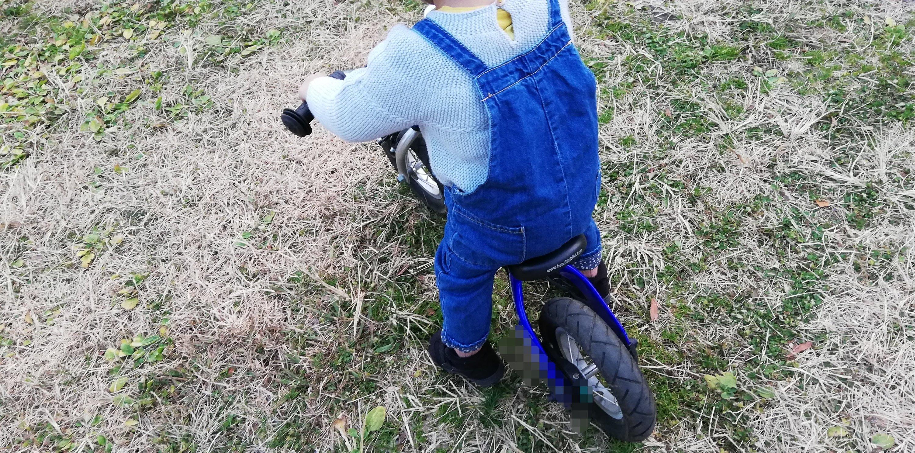 2才児に買って良かったへんしんバイクS!まる子もデビュー!