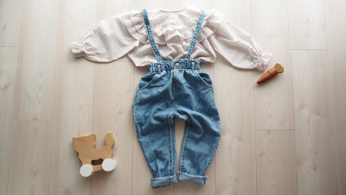 プチプラ韓国子供服xZARAキッズコーデ。