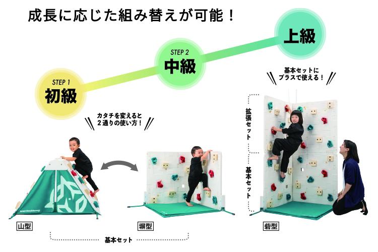 室内遊びボルダリング