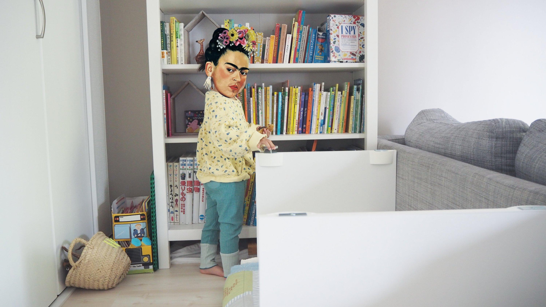 子供のぷち読書スペース。リーディングヌックの探求。