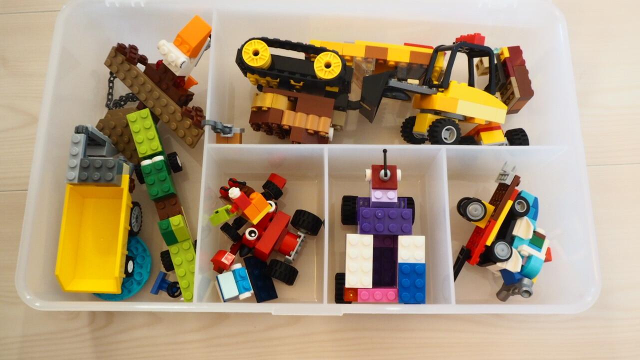 IKEAのLEGOクラシック収納ボックスGLIS