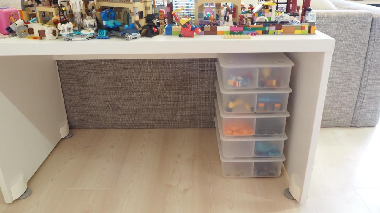 LEGO収納にIKEA