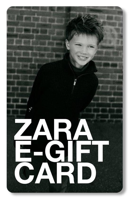 ZARA-Eギフトカードはメールで届きます。